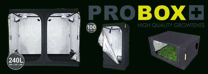 PROBOX, levné pěstební stany