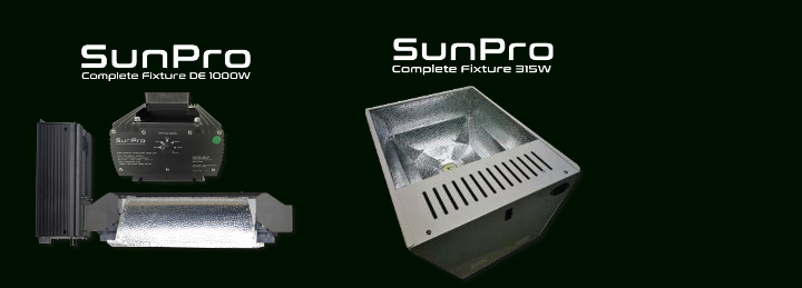 Kompletní lampy SunPro Complete Fixture