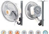 Ventilátor s klipsnou Monkey Fan, průměr 15cm, 2 rychlosti