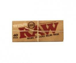 Papírky RAW King Size SUPREME, 40ks v balení