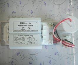 Předřadník MARI 400W, 230V, svorkovnice