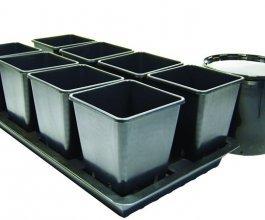Octogrow, pasivní hydroponický systém pro 8 rostlin