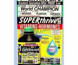 Superthrive 120ml, vitamíny a hormony