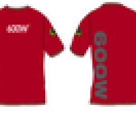 Triko Growshop dámské 600W, velikost S, M, L, barva červená