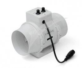 Ventilátor s termostatem TT 160 U, 467/552m3/h