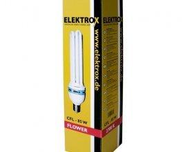 Úsporná lampa ELEKTROX 85 W,2700K, květové spektrum, s integrovaným předřadníkem